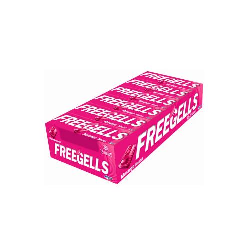 Drops Freegells Morango com 12 unidades